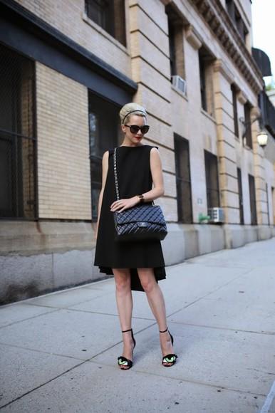 atlantic pacific shoes sunglasses bag eye little black dress