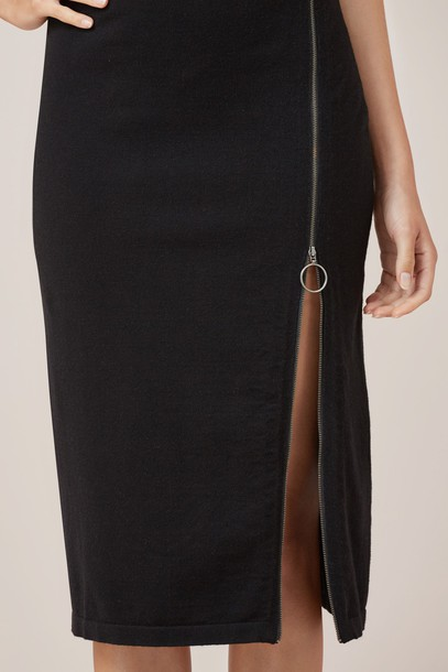 Finders Keepers skirt black knit