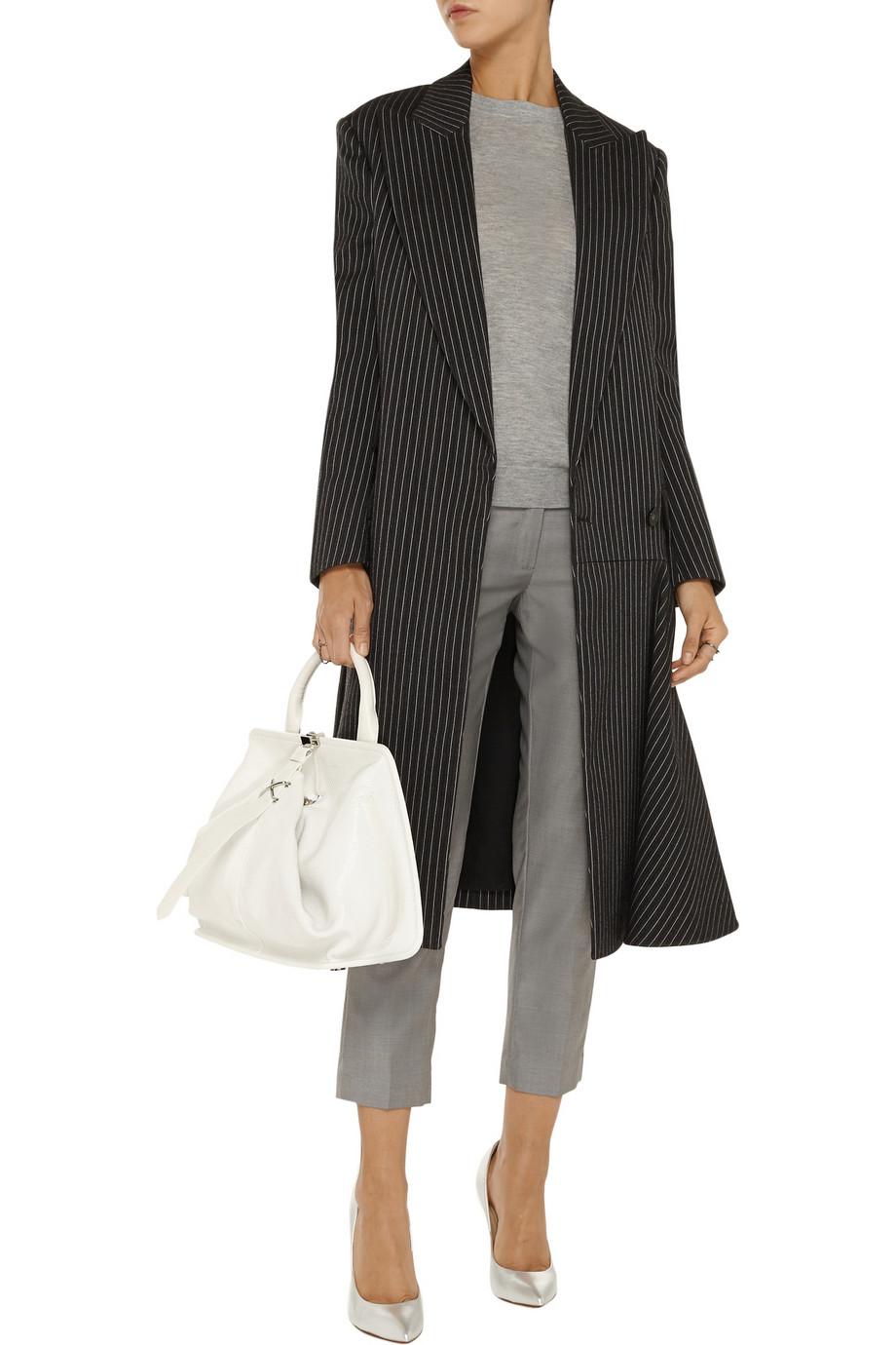 Stella mccartney paulette pinstripe wool