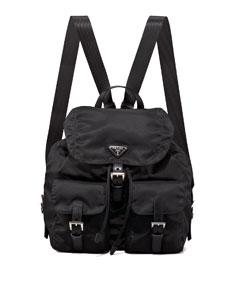 Vela backpack, black (nero)