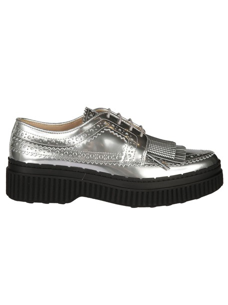 Tods shoes lace-up shoes lace metallic