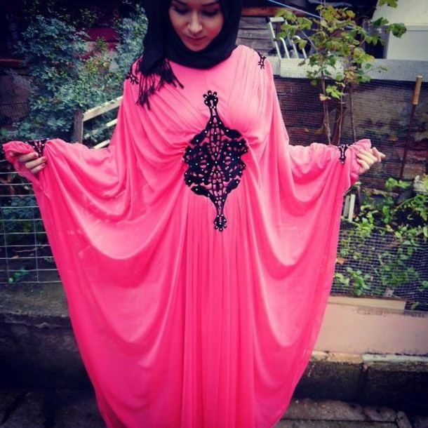 Dress: arab dress, arabic style, arabian, oriental, modest ...