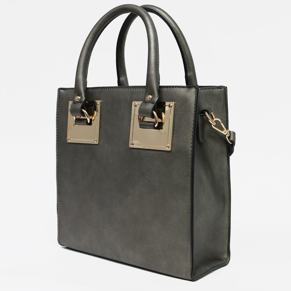 Trendzy frenzy: metallic satchel