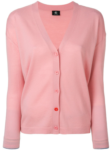 PS By Paul Smith cardigan cardigan women wool purple pink sweater