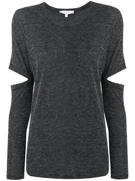 Iro top knitted top women wool grey