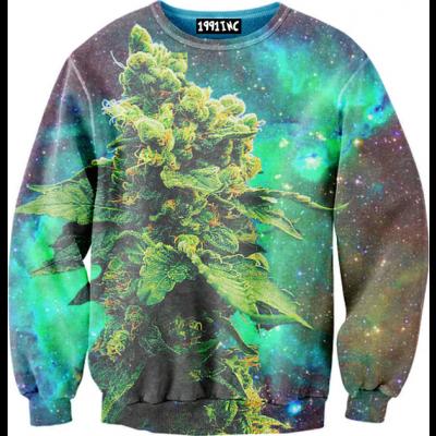 Weed galaxy sweater