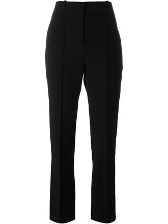 high waisted high black pants