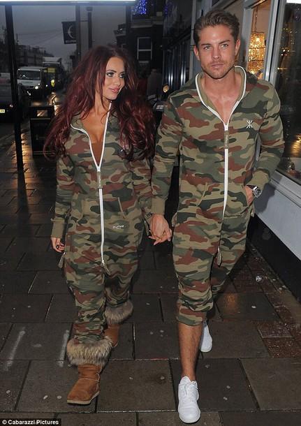 jumpsuit camouflage onesie