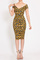 Yellow leopard midi dress · trendyish · online store powered by storenvy