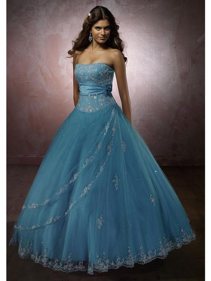 blue dress corset dress sweet 16 dresses beaded dress