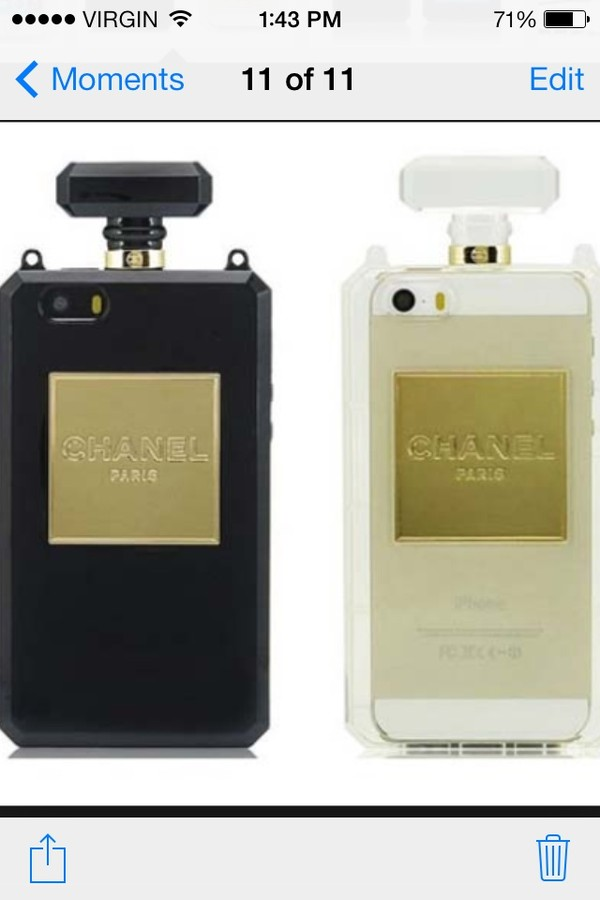 jewels chanel iphone cases