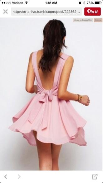 dress bow dress bow pastel pink pastel dress