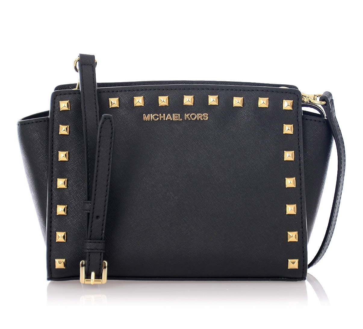MICHAEL Michael Kors Studded Mini Leather Bag — Emporium Baku Online