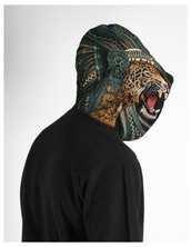 black,tiger,hoodie,sweater,tiger hood,pullover,zipup