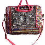bag,nandnandini,laptop bag,banjara bag,bohemian bag,indian bags,tribal bags,handmade bags,gypsy bag,mirror work bag,vintage bags,indian embroidery bag,hand shoulder bag
