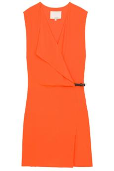 Buyosphere — Phillip Lim Silk V Neck Draped Dress from boutique1.com