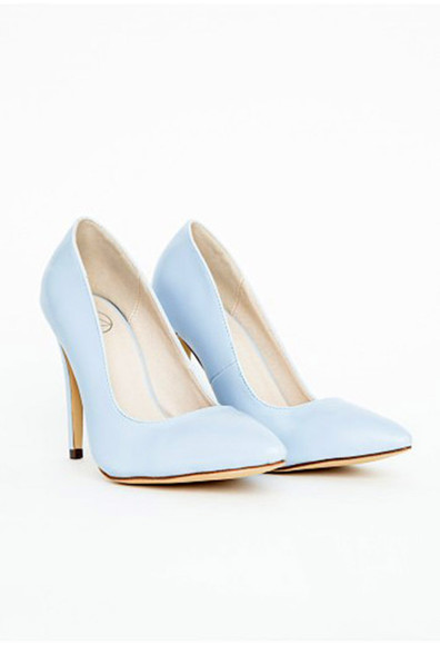 shoes baby blue pastel blue dress pastel court shoes missguided