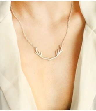 jewels necklace antlers