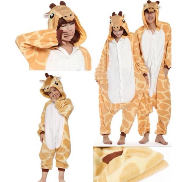 c2a522fb75de pajamas giraffe footie pajamas onesie kids fashion