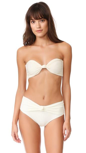Mikoh bikini bikini top bandeau bikini swimwear