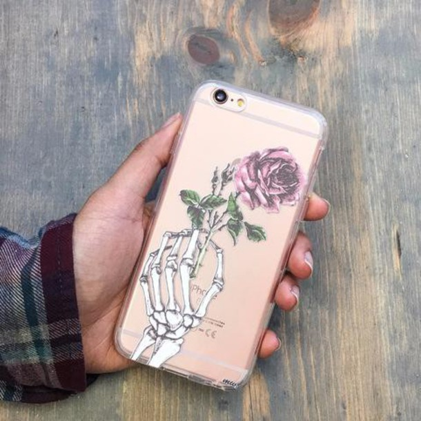 Milkyway Cases CLEAR TPU CASE COVER - CRANE ROSE