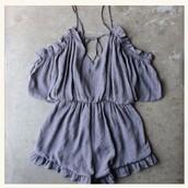 romper,cute,flowy,dressy,girly,purple