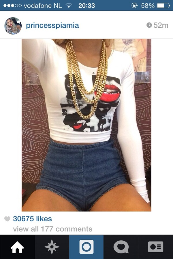 jewels shorts shirt pants t-shirt jeans