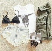 top,crop tops,white,indian boots,shorts,black bikini,grey,flower crown,hipster,jacket,shoes,t-shirt,skull,bralette