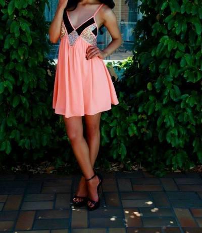 Summer of Love Dress  - Mint & Pink