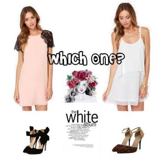 dress just no logo style girl cute dress elegent dress chiffon mini dress streetstyle polyvore sets tumblr instagram