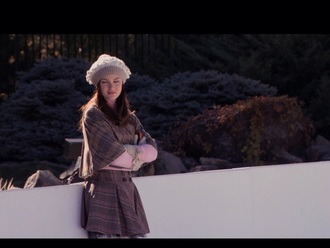 skirt tartan skirt tartan tartan cape cape gossip girl blare waldorf
