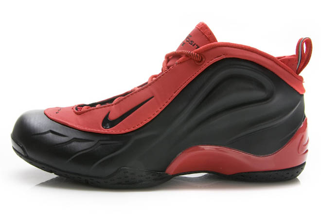 Air Flightposite 5 Nike Basketball Shoes Varsity Red and Black - Womens -  $112.88