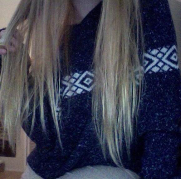 aztec oversized sweater winter sweater christmas