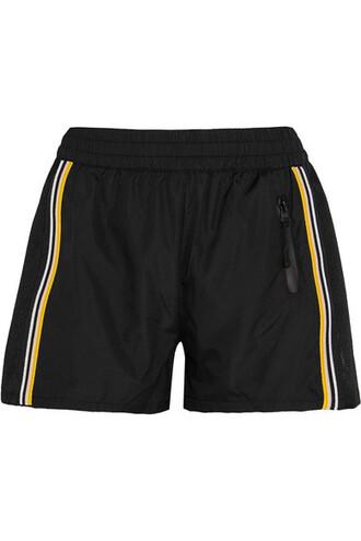 shorts mesh shell black
