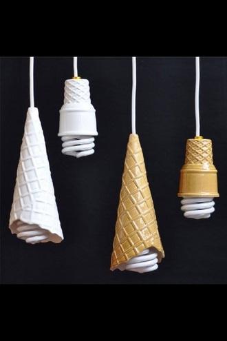 home accessory lighting funny ice cream