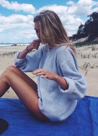 sweater light style grey light grey oversized sweater oversized fall outfits fall sweater textured sweater