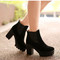 Platform ankle boots - 4 colors - winter shoes blogger trend style | awesome world - online store