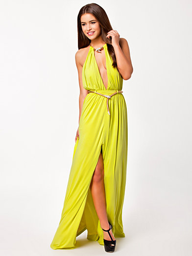 Dress - Forever Unique - Lime - Party Dresses - Clothing - Women ...