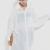 Splicing Chiffon Batwing Sleeve White Shirt [NCSOQ0369] - $52.99 :