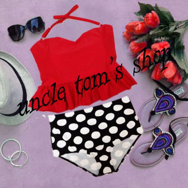 swimwear high waist swimsuit bikini vintage bikini high waisted bikini vintage swimsuit retro swimwear