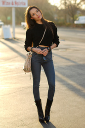 hapa time,t-shirt,jewels,bag,shoes,jeans,sweater,black,blogger