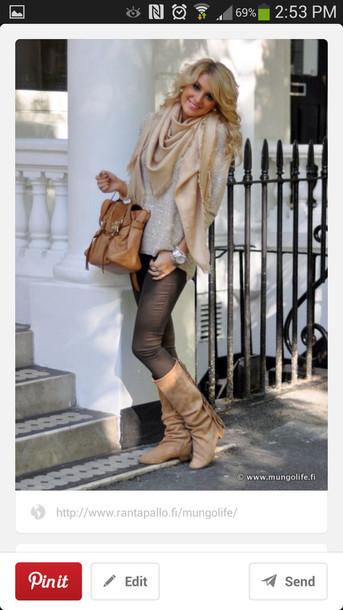 pants brown skinny