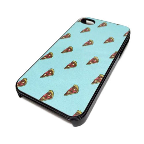 Apple iPhone 4 4S or 5 5S Case Skin Cover Hipster Sky Blue Pizza Cute Food Funny | eBay