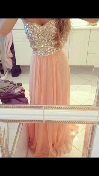 dress pink dress classy summer dress summer formal dress party dress