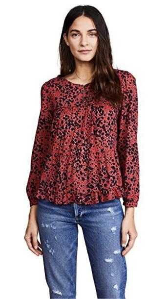 XIRENA blouse top