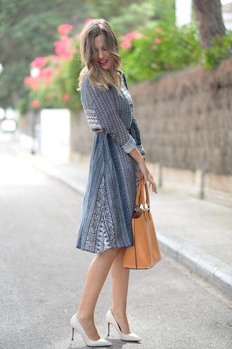 mi aventura con la moda blogger dress bag shoes