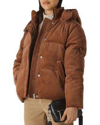 Whistles Casey Corduroy Puffer Jacket   Bloomingdale's