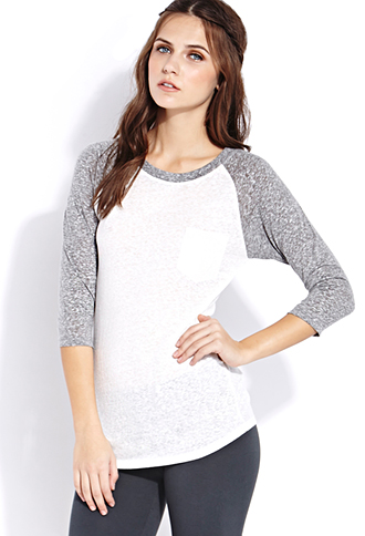 Everyday Baseball Tee | FOREVER21 - 2000063900