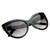 Womens Designer High Temple Modern Cat Eye Sunglasses 8217                           | zeroUV