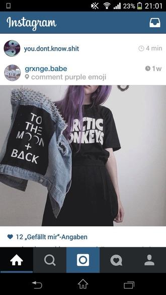 skirt schoolstyle grunge metal